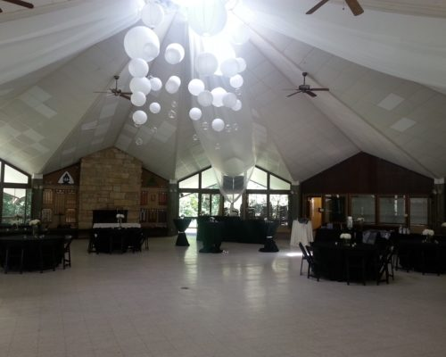 Interior View of Wedding venue